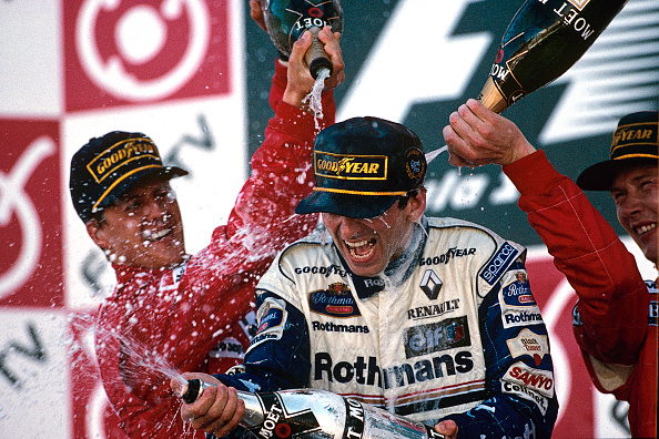 Japanese Formula One Grand Prix「Michael Schumacher, Damon Hill, Mika Hakkinen, Grand Prix Of Japan」:写真・画像(14)[壁紙.com]