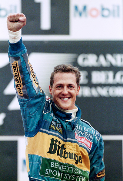Spa「Michael Schumacher - Belgian Grand Prix 1995」:写真・画像(19)[壁紙.com]