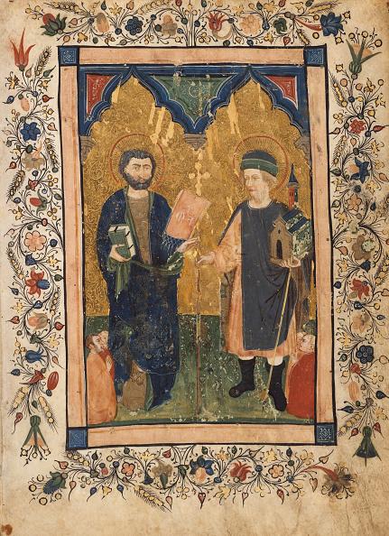 Preacher「Saint Mark The Evangelist And Saint Sinibaldus Venerated By Members Of A Lay...」:写真・画像(4)[壁紙.com]