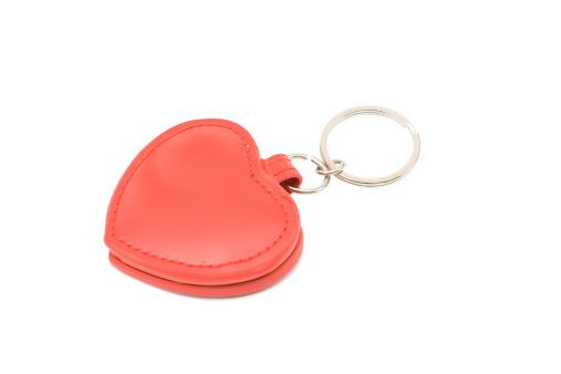 Keyring Charm「Red heart」:スマホ壁紙(18)