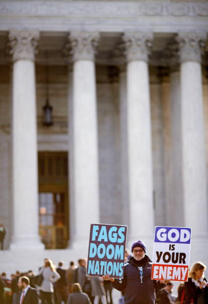 WBC「Supreme Court Hears First Amendment Case On Protests At Military Funerals」:写真・画像(13)[壁紙.com]