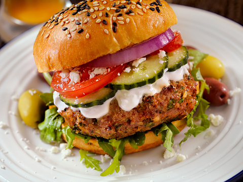Hamburger「100% Lamb -Greek Burger」:スマホ壁紙(19)