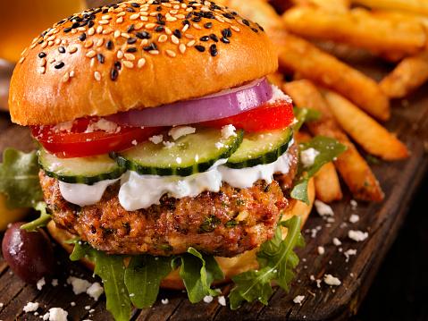 Arugula「100% Lamb -Greek Burger」:スマホ壁紙(0)