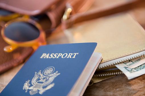 冒険「Passport, wallet and sunglasses」:スマホ壁紙(8)