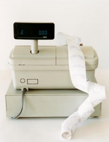 Cash Register「Cash Register and Receipts」:スマホ壁紙(18)