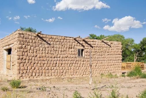 Indigenous Culture「Adobe House in Indian Pueblo」:スマホ壁紙(13)