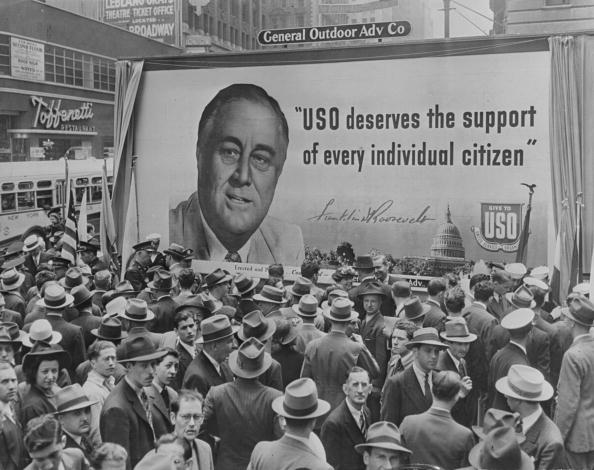 Franklin Roosevelt「Roosevelt Poster」:写真・画像(14)[壁紙.com]
