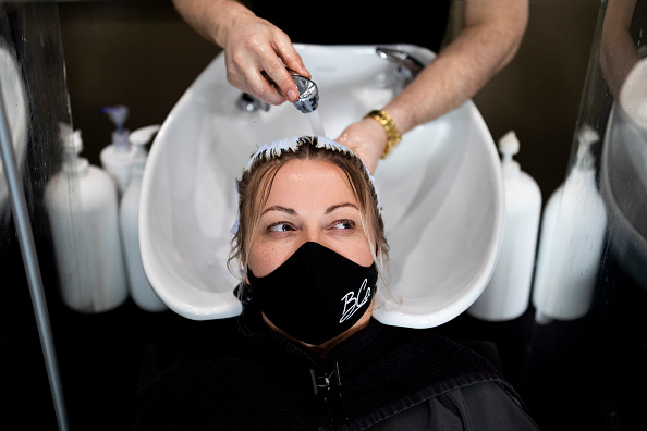 Hairstyle「Nail Salons Reopen In England As Lockdown Eases」:写真・画像(13)[壁紙.com]
