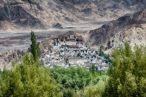 Himalayas「Thikse Monastery near Leh, Ladakh, India」:スマホ壁紙(10)