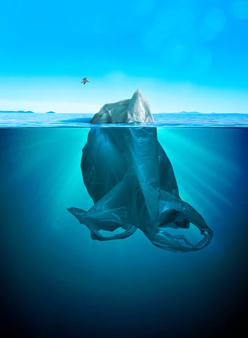 Global Village「iceberg of trash」:スマホ壁紙(19)