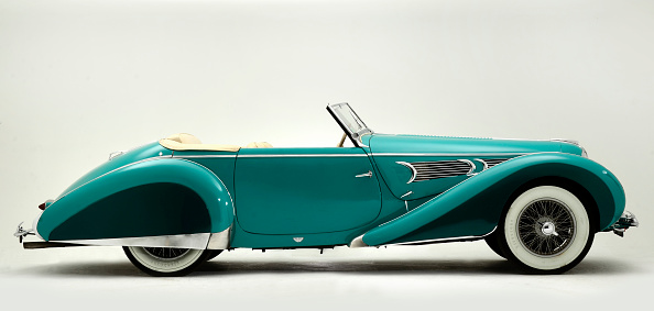 Side View「1939 Delahaye Speciale Type 135 MS」:写真・画像(5)[壁紙.com]