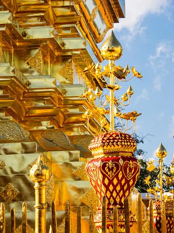 仏像「Watt Pra that Doi Suthep Holy Buddhist Temple, Chiang Mai, Thailand」:スマホ壁紙(5)