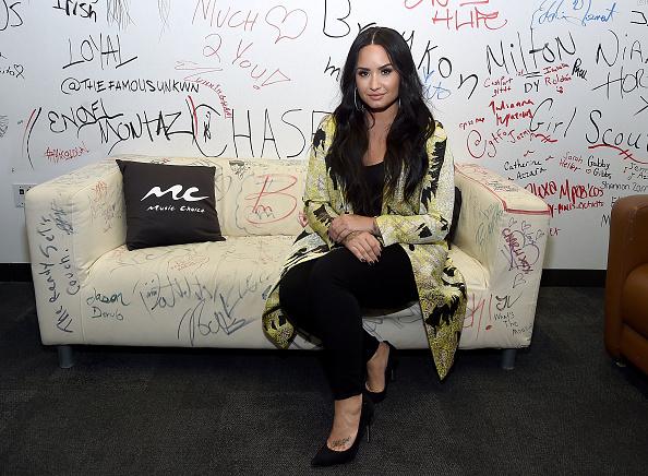 Choice「Demi Lovato Visits Music Choice」:写真・画像(10)[壁紙.com]