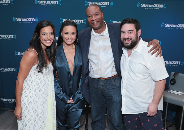 Demi Lovato「Demi Lovato Visits 'The Morning Mash Up' On SiriusXM Hits 1 Channel At The SiriusXM Studios In New York」:写真・画像(0)[壁紙.com]