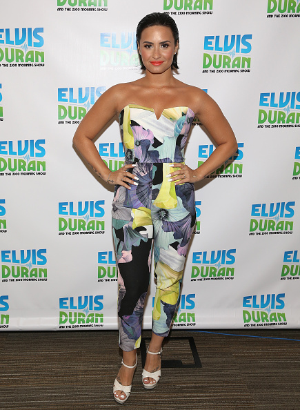 Demi Lovato「Demi Lovato Visits 'The Elvis Duran Z100 Morning Show'」:写真・画像(10)[壁紙.com]