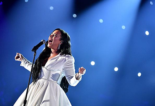 Demi Lovato「62nd Annual GRAMMY Awards - Inside」:写真・画像(11)[壁紙.com]