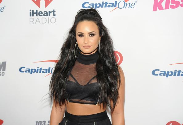 Demi Lovato「103.5 KISS FM's Jingle Ball 2017 - PRESS ROOM」:写真・画像(12)[壁紙.com]