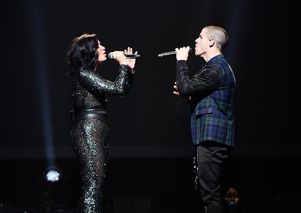 ポピュラーミュージックツアー「Demi Lovato & Nick Jonas In Concert - Brooklyn, NY」:写真・画像(12)[壁紙.com]