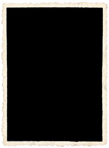 Sepia Toned「Old crinkle edged photo on white backround」:スマホ壁紙(16)