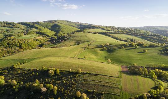 Rolling Landscape「Tuscany landscape at sunset」:スマホ壁紙(12)