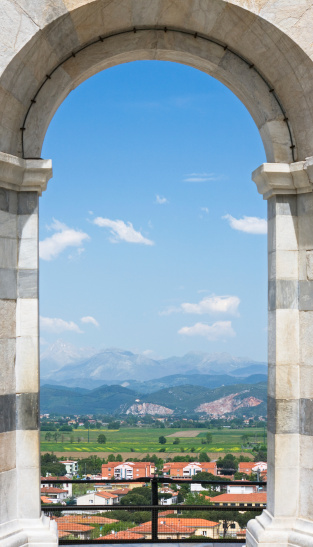 Window Frame「Tuscany landscape, Italy」:スマホ壁紙(18)