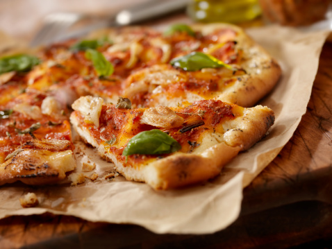 Vegetarian Food「Marinara Pizza」:スマホ壁紙(19)
