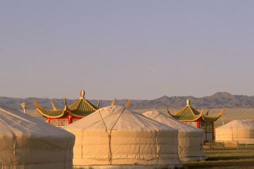 Eco Tourism「Tourist camp, South Gobi Desert, Mongolia」:スマホ壁紙(10)