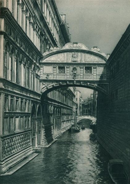 Bridge - Built Structure「Bridge of Sighs, Venice, Italy」:写真・画像(11)[壁紙.com]
