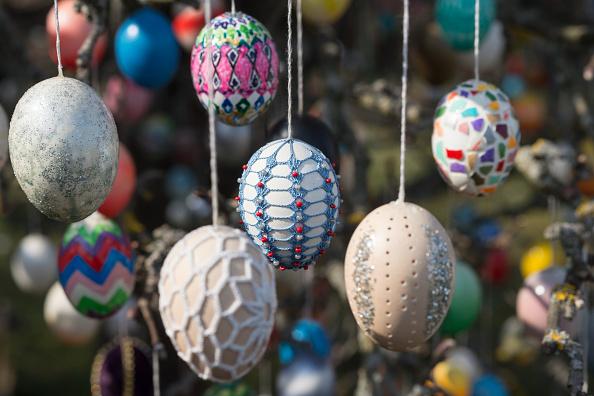 イースター「Pensioner Decorates Tree With 10,000 Easter Eggs」:写真・画像(0)[壁紙.com]