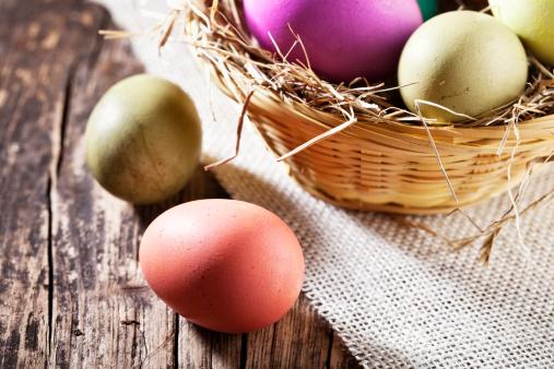 イースター「イースター卵の木」:スマホ壁紙(2)