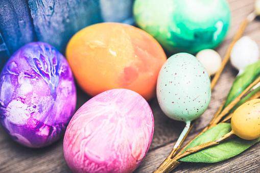 Easter「Easter Eggs」:スマホ壁紙(4)