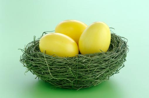 Easter「Easter eggs in nest」:スマホ壁紙(9)