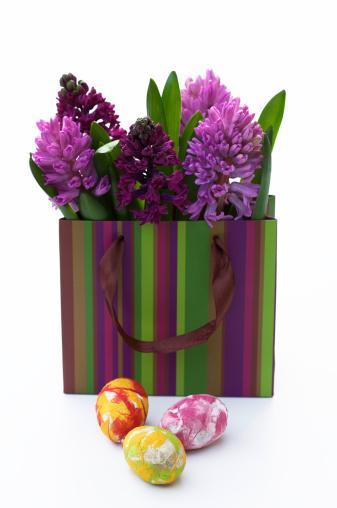 花「Easter eggs with Hyacinth」:スマホ壁紙(10)