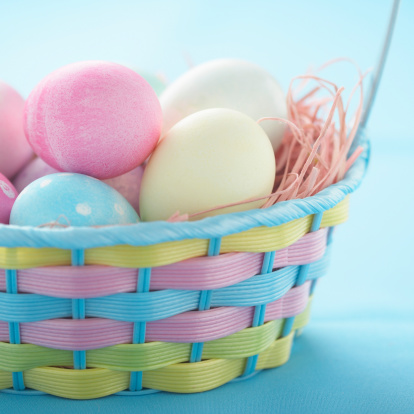 Easter Basket「Easter eggs in basket」:スマホ壁紙(15)