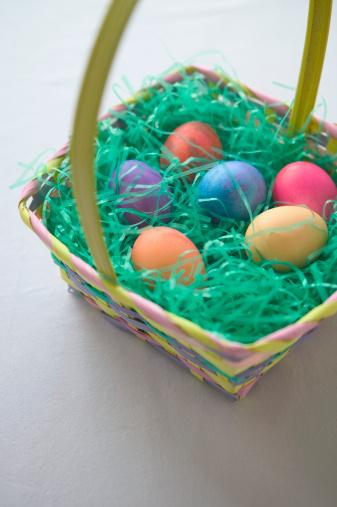 Easter Basket「Easter Eggs in Basket」:スマホ壁紙(16)