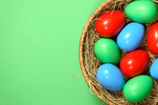 Easter Basket「Easter Eggs in Basket」:スマホ壁紙(14)