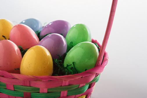 Easter Basket「Easter eggs in basket」:スマホ壁紙(2)