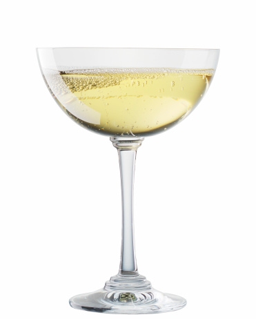 Branch - Plant Part「Sparkling wine chalice glass isolated on white background」:スマホ壁紙(10)