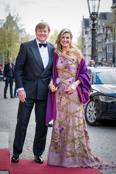 Queen Máxima「Festive Dinner And Public Opening Of Royal Palace To  Mark King Willem-Alexander's 50th Birthday In Amsterdam」:写真・画像(0)[壁紙.com]