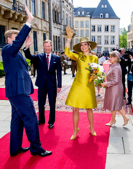 Luxembourg Royalty「King And Queen Of The Netherlands Visit Luxembourg : Day One」:写真・画像(14)[壁紙.com]