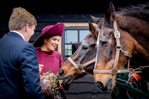 Utrecht「King Willem-Alexander and Queen Maxima of The Netherlands Visit The Eemland」:写真・画像(10)[壁紙.com]