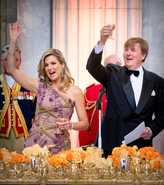 Festive Dinner And Public will opening Of Royal Palace To  Mark King Willem-Alexander's 50th Birthday In Amsterdam:ニュース(壁紙.com)