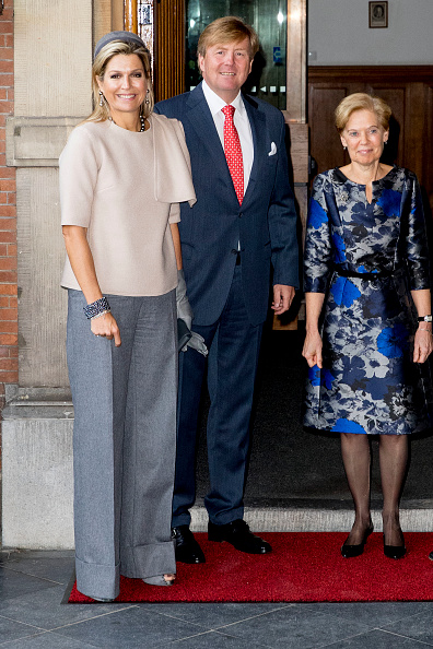 Visit「King Willem Alexander Of The Netherlands And Queen Maxima Of The Netherlands Visit Council Of State」:写真・画像(11)[壁紙.com]