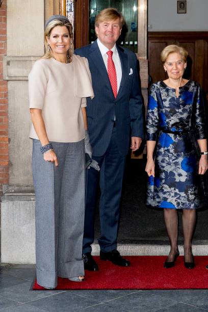 King Willem Alexander Of The Netherlands And Queen Maxima Of The Netherlands Visit Council Of State:ニュース(壁紙.com)