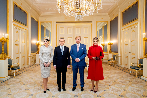 Netherlands「King Willem-Alexander and Queen Maxima receive President of Poland for an official visit in The Hague」:写真・画像(6)[壁紙.com]
