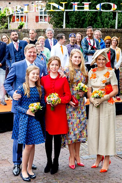 Netherlands「Dutch Royal family celebrates Kingsday 27 April in Amersfoort」:写真・画像(0)[壁紙.com]