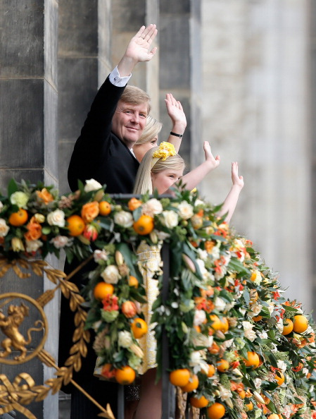 Architectural Feature「Inauguration Of King Willem Alexander As Queen Beatrix Of The Netherlands Abdicates」:写真・画像(14)[壁紙.com]