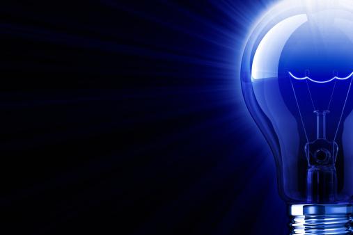 Imagination「Blue Shine Of Light Bulb」:スマホ壁紙(0)