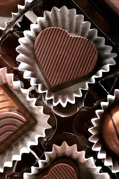 チョコレートの中心:スマホ壁紙(壁紙.com)