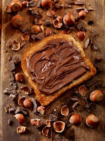 Bread「Chocolate Hazelnut Spread on Toast」:スマホ壁紙(16)